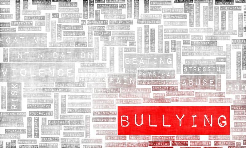 Bullying royalty free illustration