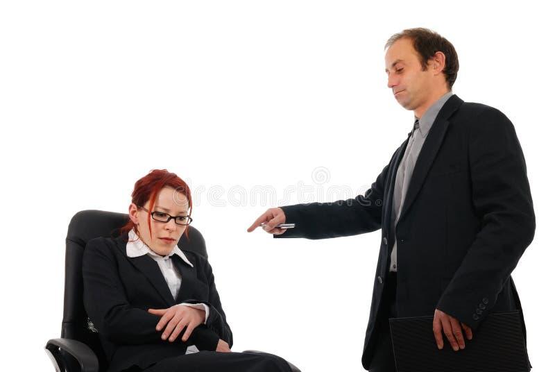 Bullying Bossy Stock Image
