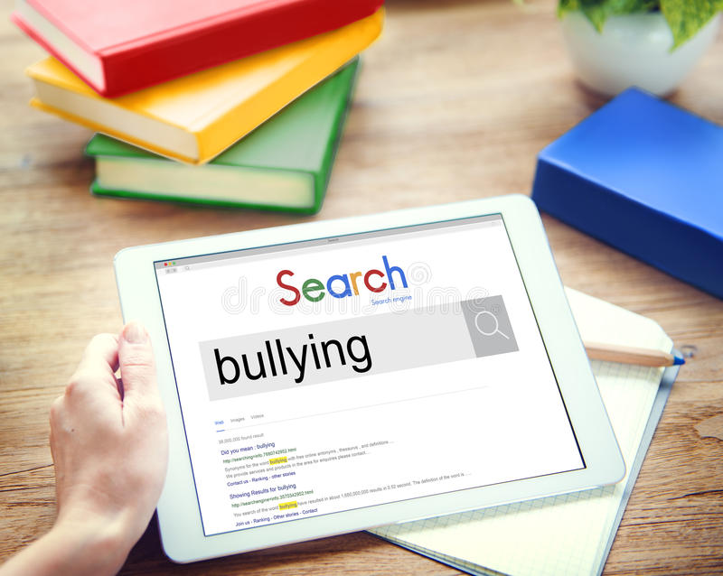 Bullying Force Scare Oppression Concept royalty free stock image