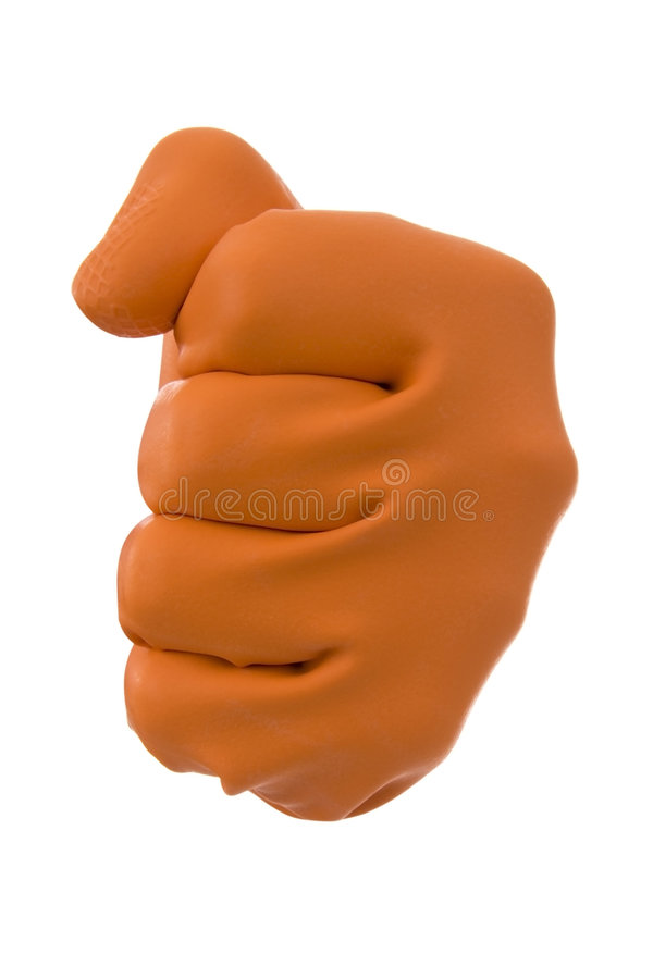 Free Bullying Gloves Stock Photos - 7266423