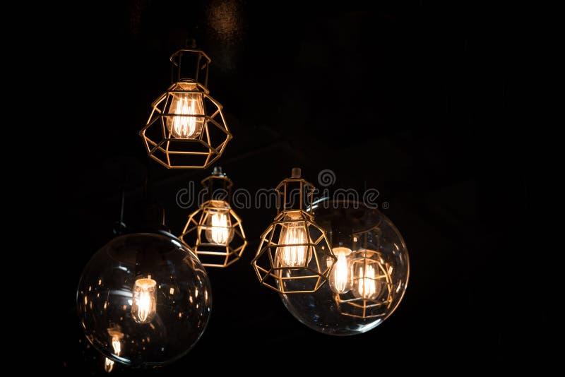 Download Bulp En Linterna Del Hierro Imagen de archivo - Imagen de lámpara, rojo: 64204257