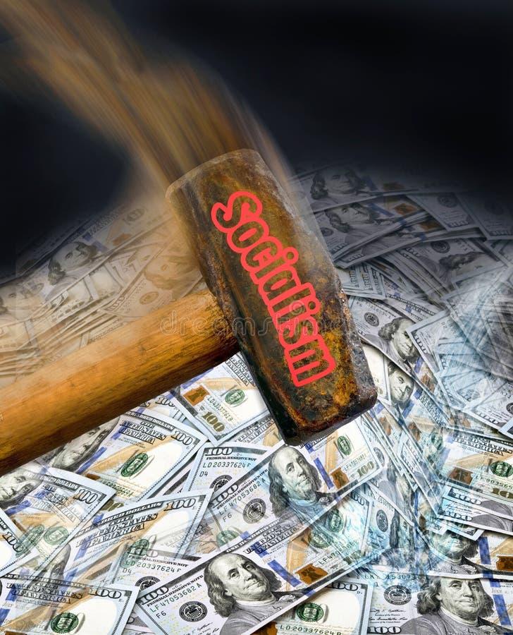 Bulta socialism i Amerika royaltyfria foton