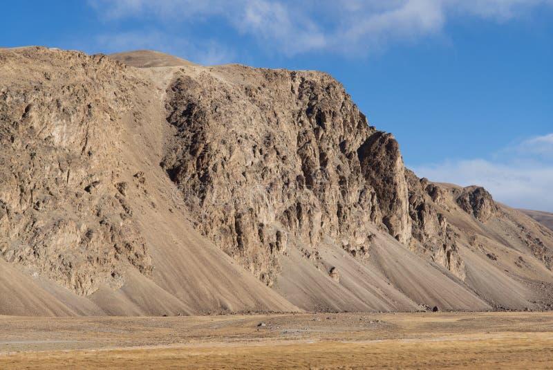 Bulunkul, Tayikistán: Hermosa vista en Pamir en Tayikistán foto de archivo