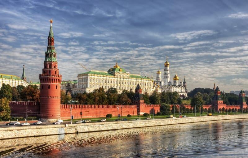 bulwaru Kremlin widok obraz stock