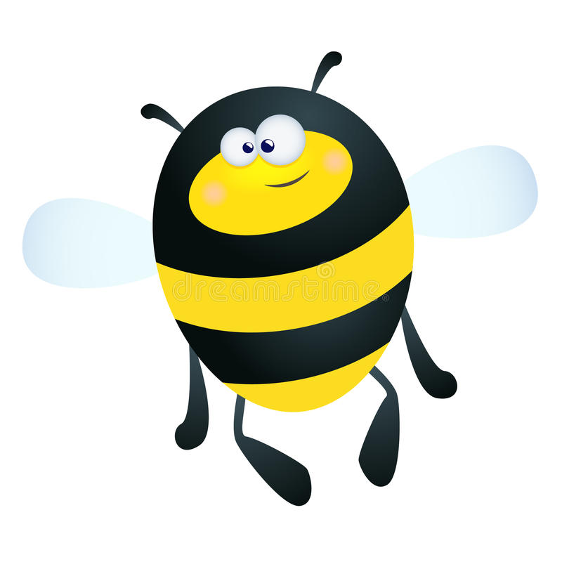 Download Bumble Bee stock vector. Image of flying, mascot, isolated - 15288892