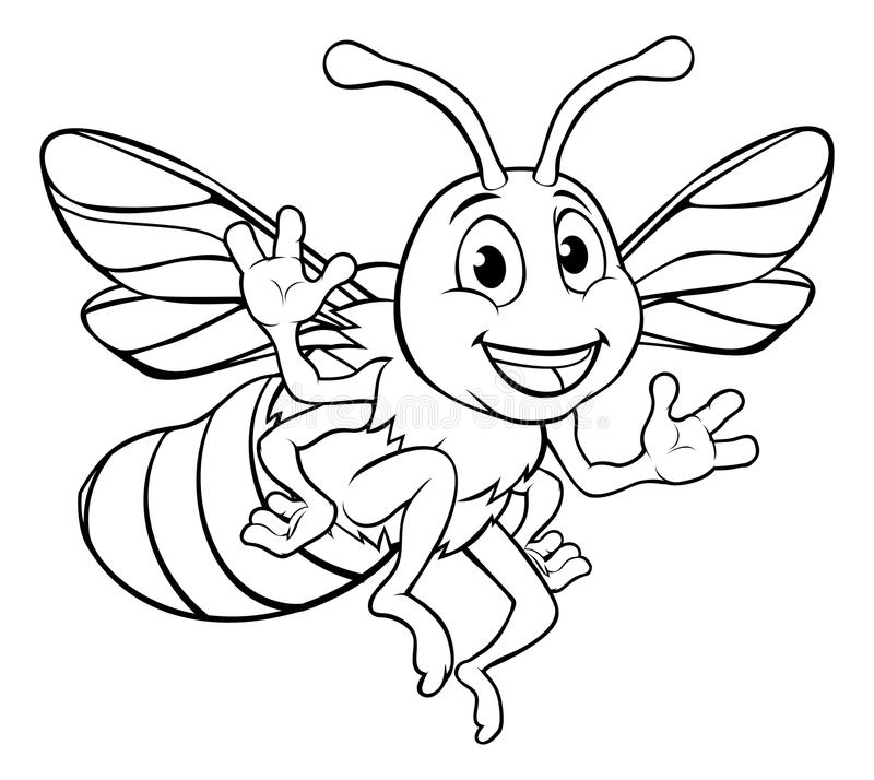 Cartoon Bumble Bee Find Here More Than - Cartoon Bumble Bee Clipart  (#70926) - PinClipart