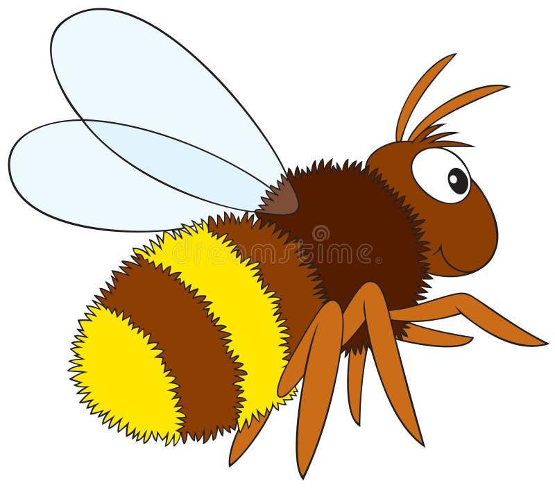 Download Bumblebee stock vector. Illustration of humor, amusing - 10744190