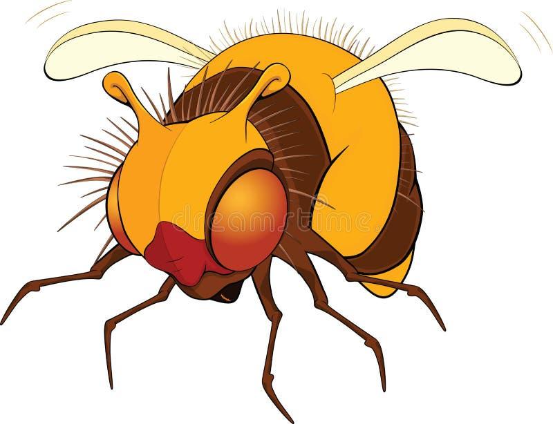 Bumblebee. Cartoon stock illustration