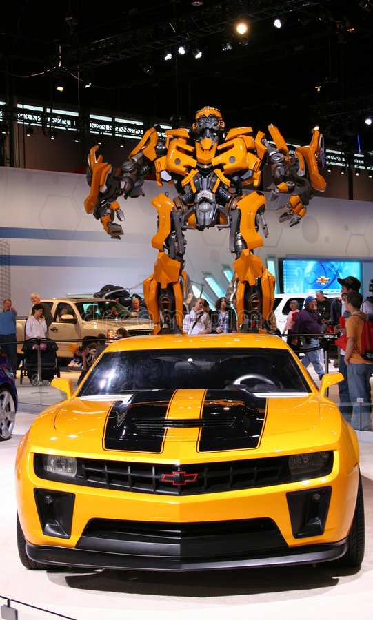 Download BUMBLEBEE, Heroic AUTOBOT Based On Chevrolet Camar Editorial Image - Image: 8249345