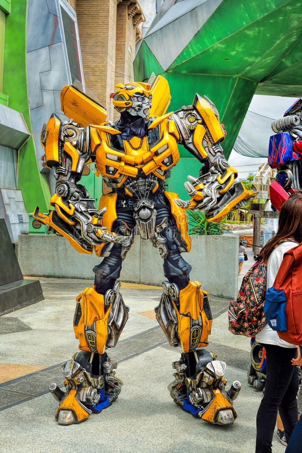 Bumblebee from transformers in universal studios editorial download bumblebee from transformers in universal studios editorial photography image of robot bumblebee m4hsunfo