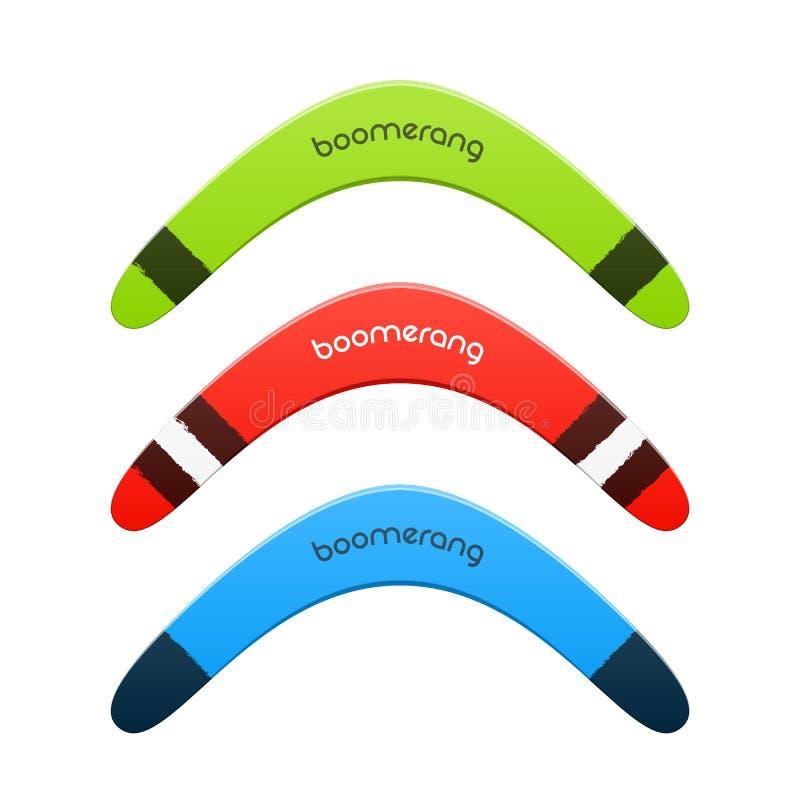 Bumerang ilustracji
