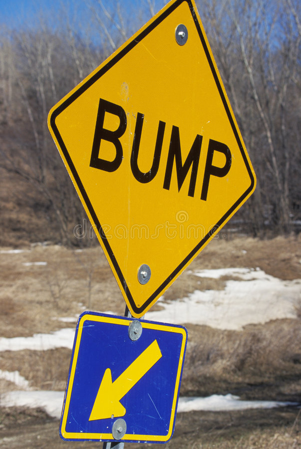 Download Bump Sign stock image. Image of contruction, mosg00002 - 5991375