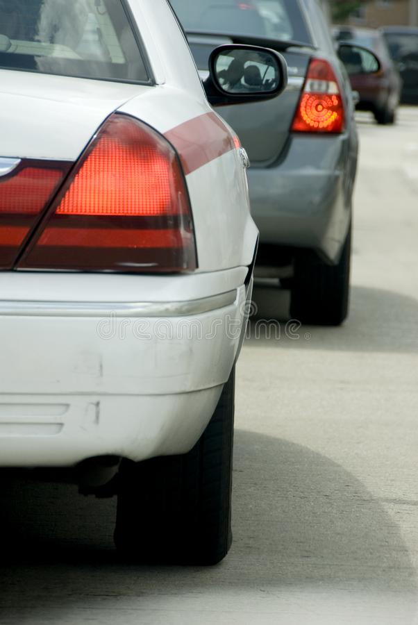 Bumper of car stock photography