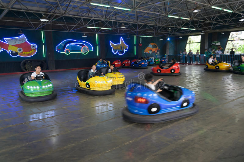Download Bumper cars editorial photography. Image of china, entertainment - 24872177