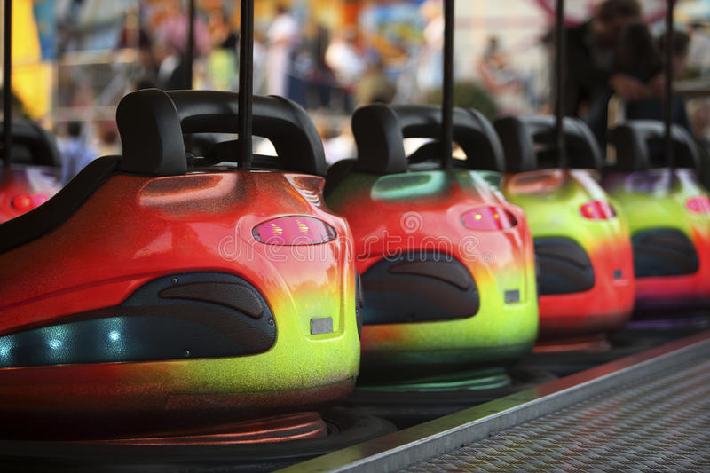 Download Bumper Cars stock image. Image of colorful, fairground - 39567723