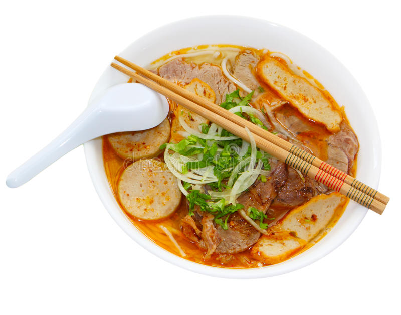 Bun Bo Hue Royalty Free Stock Image