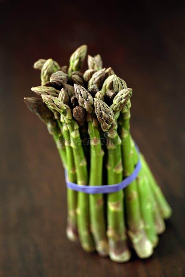 Bunch of asparagus royalty free stock photos