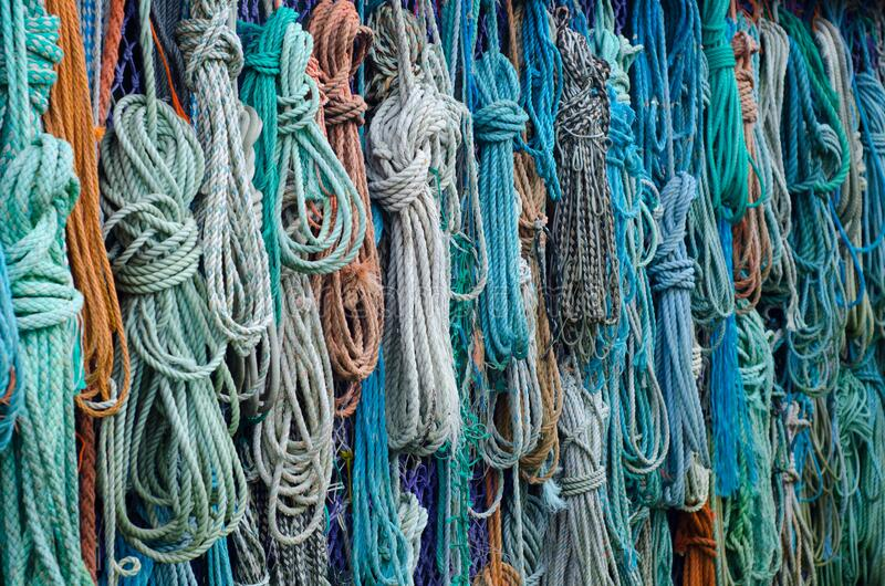 Bunch Of Assorted Colored Woven Rope Free Public Domain Cc0 Image
