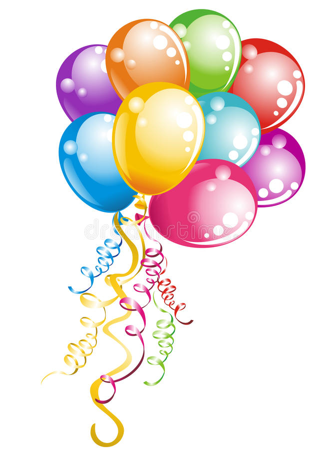 Free Bunch Balloons. Vector Illustration Stock Images - 20955334