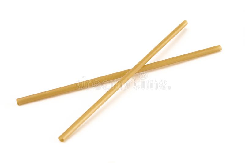 Bunch of Bamboo or Sugarcane Straws an Environmentally Friendly Alternative to Plastic. A Bunch of Bamboo or Sugarcane Straws an Environmentally Friendly stock photo