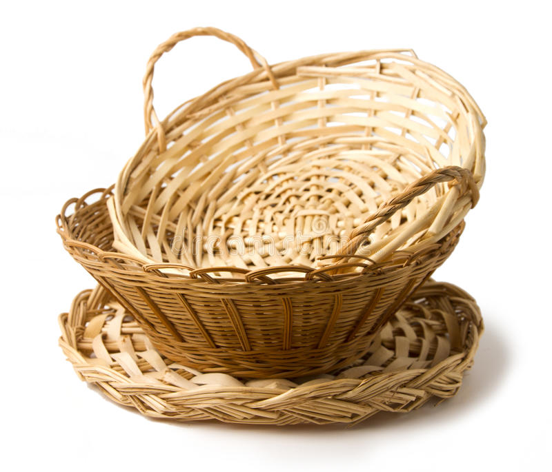 Download Bunch of baskets stock image. Image of tableware, plate - 26830181