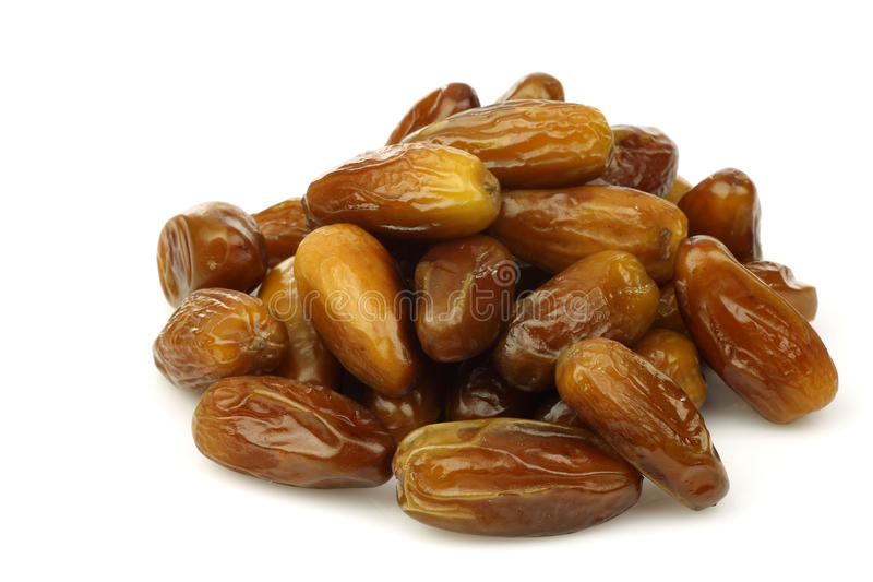 Bunch Of Dried Dates Stock Image