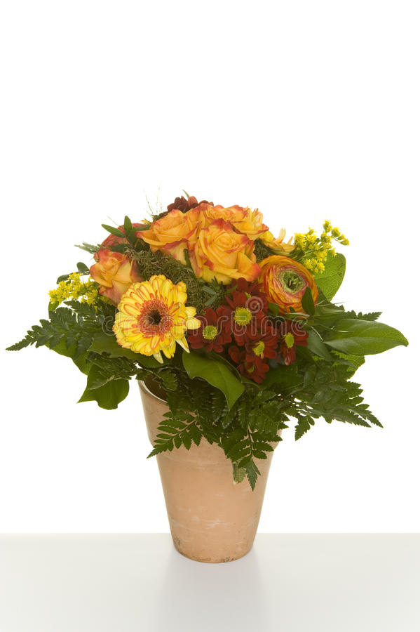 Bunch of flowers. A variety of beautiful bunches of flowers (roses,gerbera,magnolias stock photography