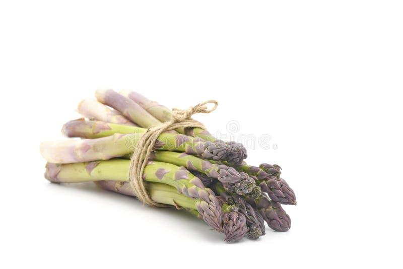Fresh Asparagus Bunch royalty free stock photos