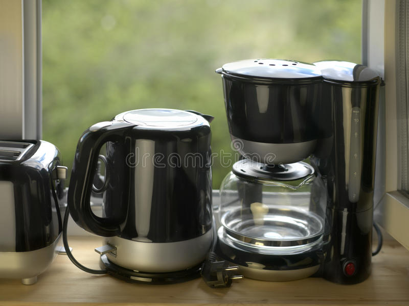 Bunch Of Home Appliances royalty free stock image