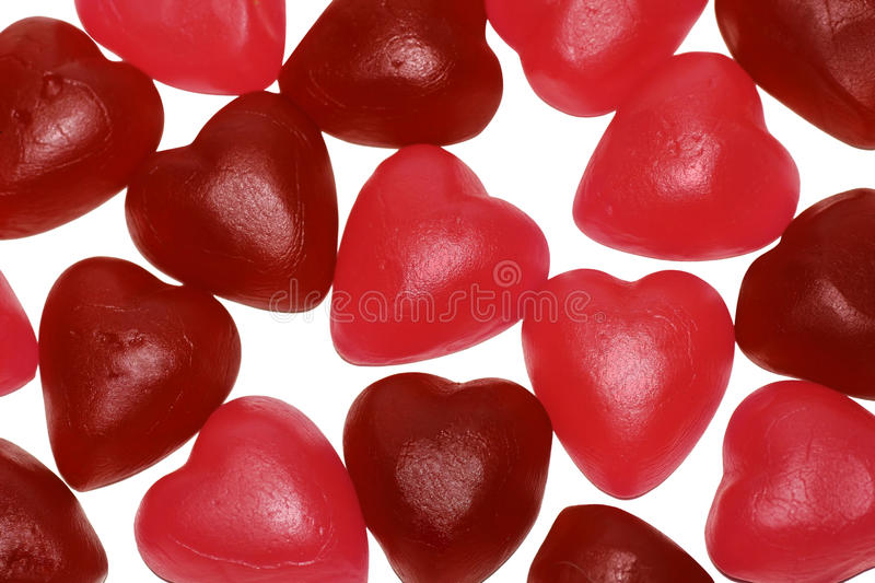 Download Bunch Of Jelly Heart Shape Candy Stock Photo - Image: 17892744