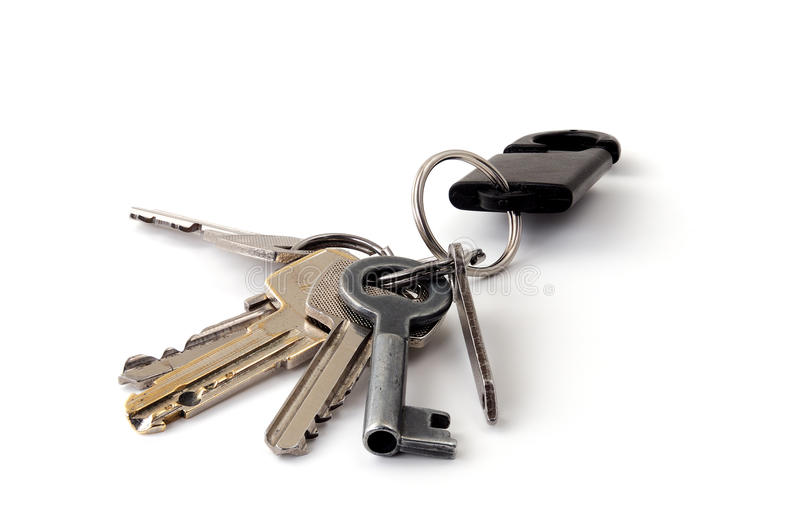 Download Bunch of keys stock photo. Image of security, brass, open - 23715592