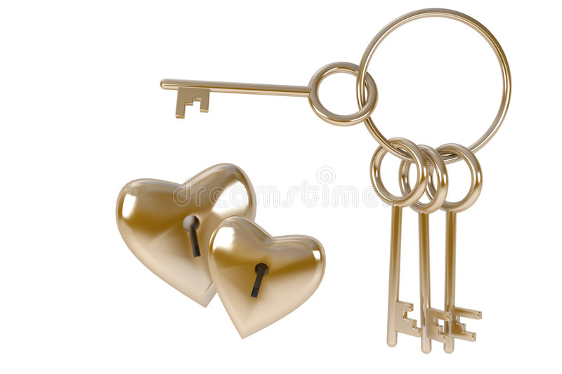 Download Bunch Of Keys To Heart, Concept  Love Royalty Free Stock Photo - Image: 7613045