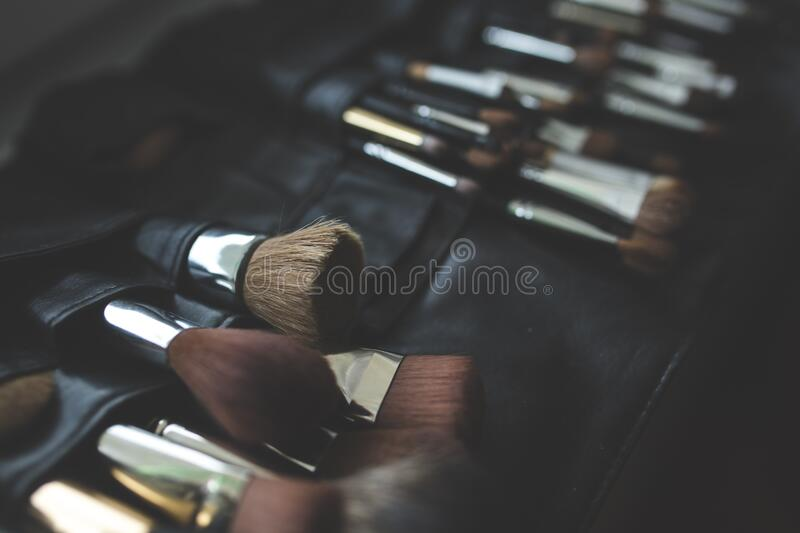 A Bunch Of Make-up Brushes Free Public Domain Cc0 Image
