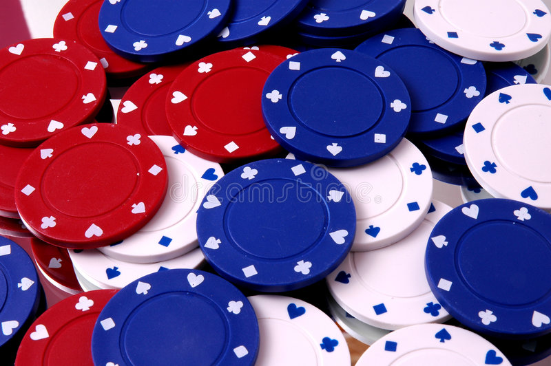 Download Bunch of Poker Chips stock image. Image of over, hearts - 471163