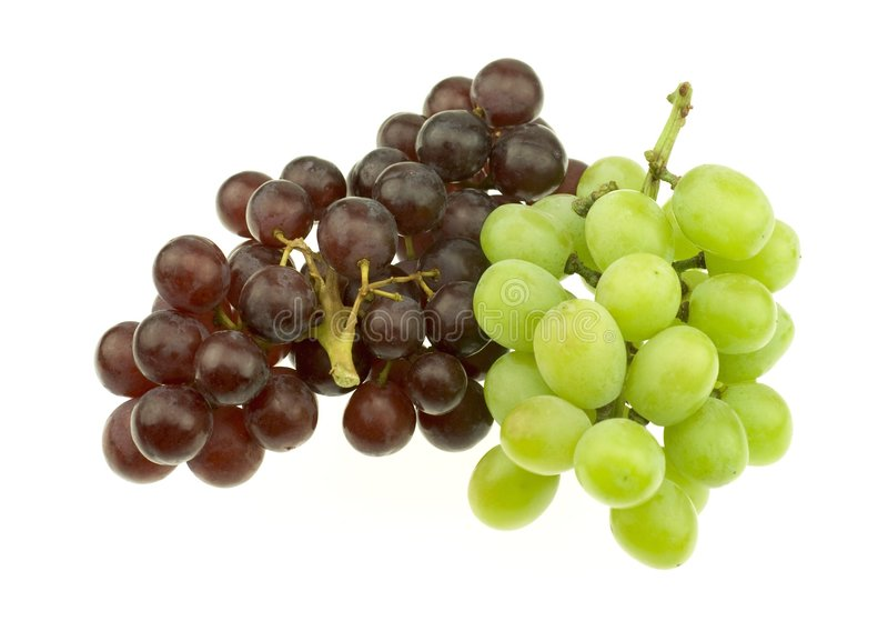 Download Bunch Of Red And White Seedless Grapes Stock Photo - Image: 8012766
