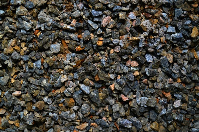 A Bunch Of Rocks Of Different Shapes, Sizes and Colors. stock photography