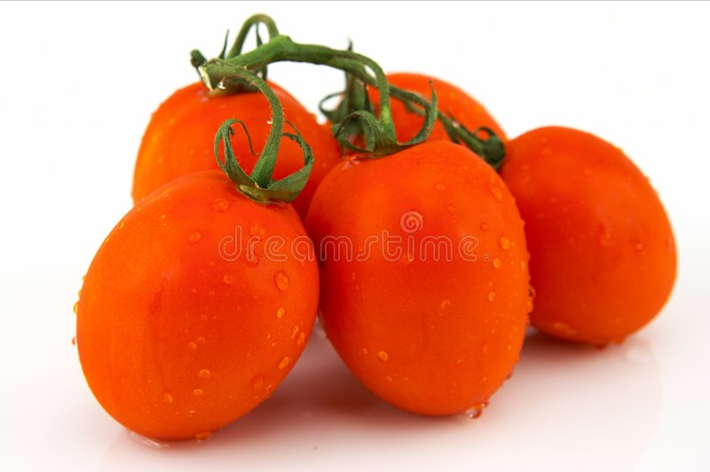 Download Bunch of Roma Tomatoes stock image. Image of vegetable, organic - 20729
