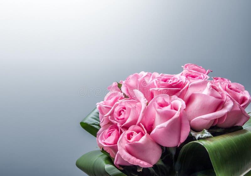 Bunch of roses stock photos