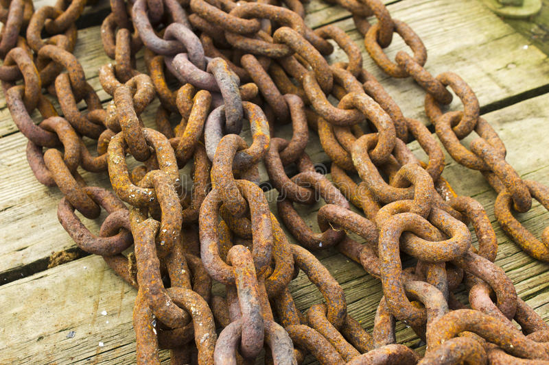 Download Bunch Of Rusting Steel Chains Royalty Free Stock Photography - Image: 23214687