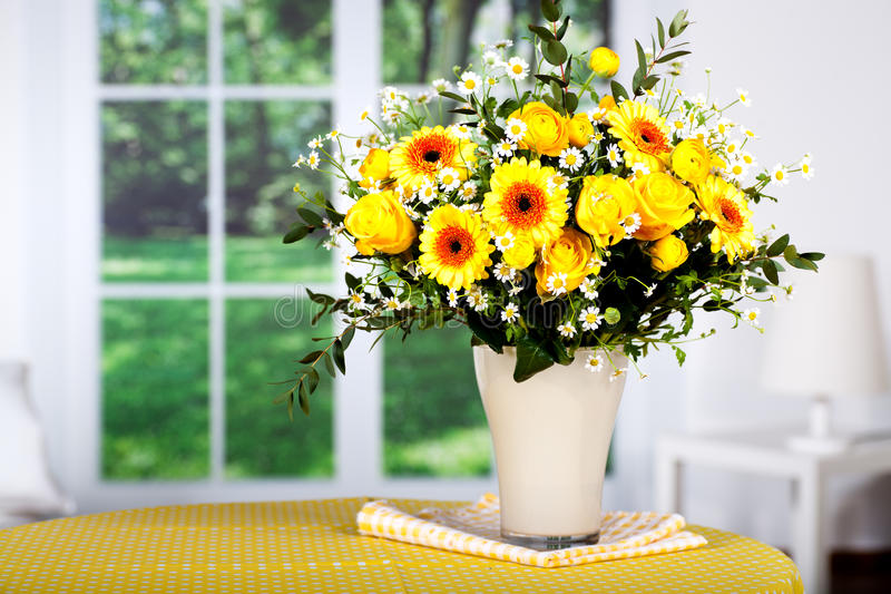 Bunch of spring flowers royalty free stock images