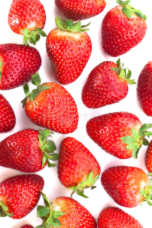 Bunch of strawberries royalty free stock image