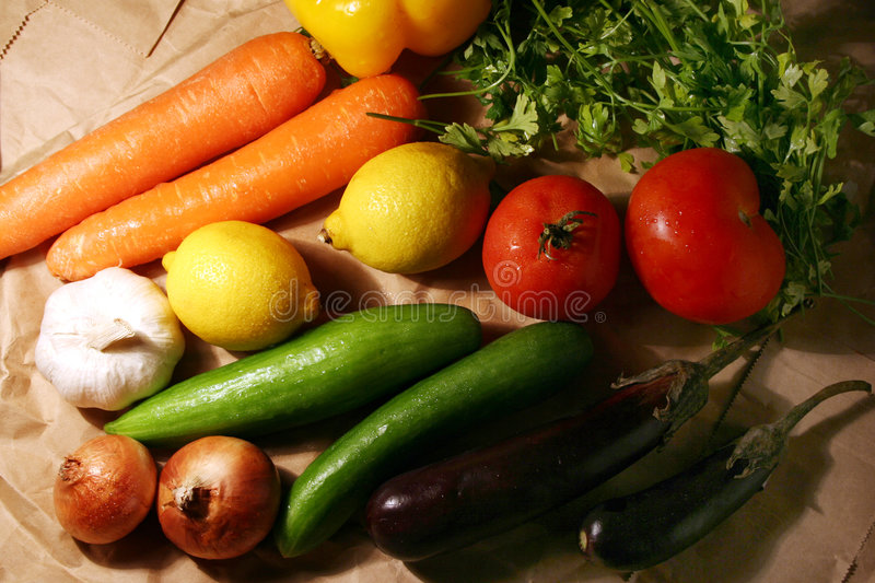 Download Bunch Of Vegetable & Fruits Stock Image - Image: 1499447