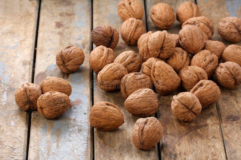 Bunch of Walnuts stock photo