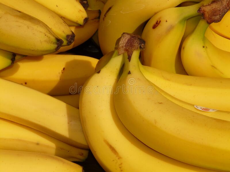 Bunch Of Yellow Banana Free Public Domain Cc0 Image