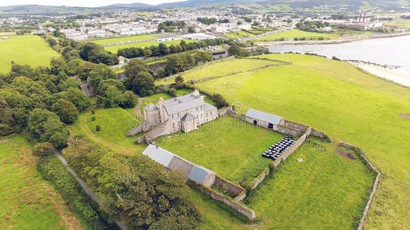 Buncrana Castle O'Doherty's Keep Donegal Ireland fotografia stock libera da diritti