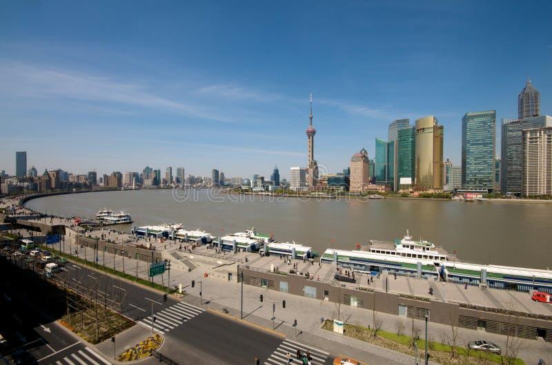 Download Bund shanghai fotografering för bildbyråer. Bild av oceanfront - 19791299