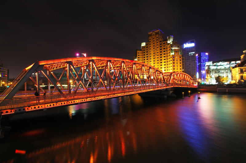 The Bund in Shanghai. China royalty free stock image