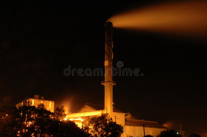 Bundaberg sugar mill royalty free stock images