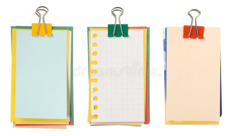 Bundel van document royalty-vrije stock foto's