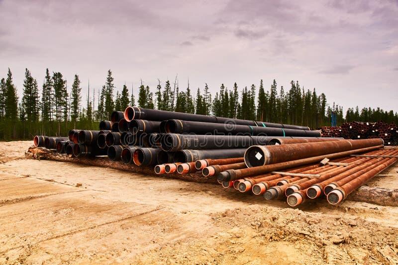 Bundels van oliebronomhulsel royalty-vrije stock afbeelding